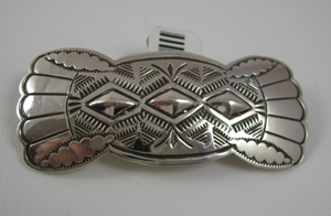 Navajo Sterling Barrette